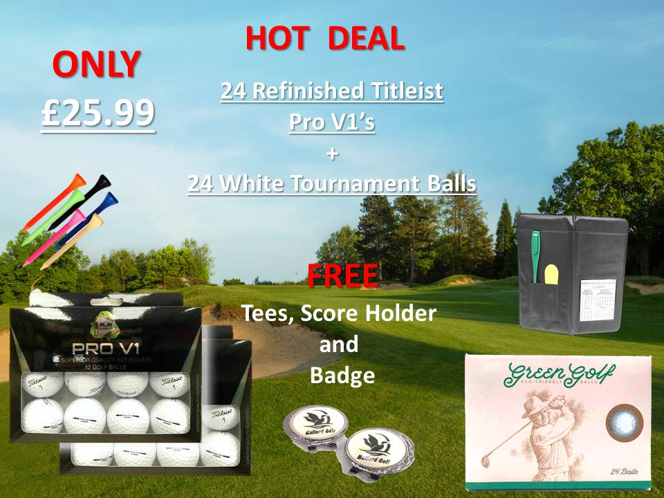 Used and Recycled Golf Balls, Home Golf Balls  Used Golf
